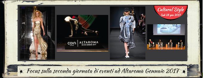 Focus sulla seconda giornata di eventi ad altaroma gennaio for Altaroma gennaio 2017